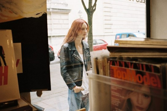 CODIE YOUNG HITS PARIS FOR LOVE WANT MAGAZINE BY GEN KAY.....