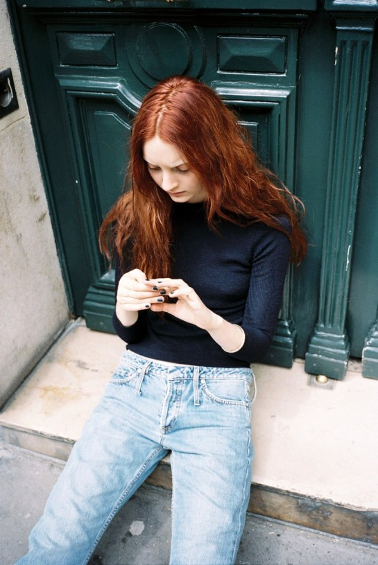 CODIE YOUNG HITS PARIS FOR LOVE WANT MAGAZINE BY GEN KAY......