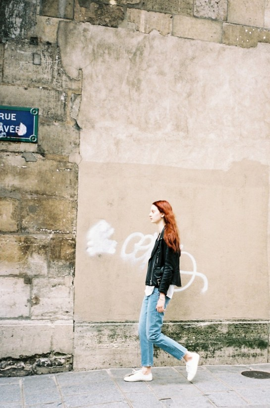 CODIE YOUNG HITS PARIS FOR LOVE WANT MAGAZINE BY GEN KAY..
