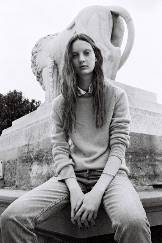 CODIE YOUNG HITS PARIS FOR LOVE WANT MAGAZINE BY GEN KAY.