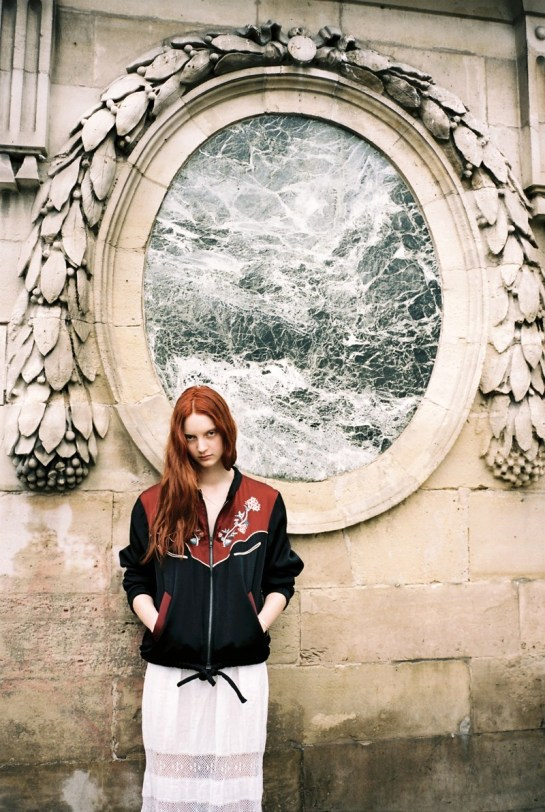 CODIE YOUNG HITS PARIS FOR LOVE WANT MAGAZINE BY GEN KAY....