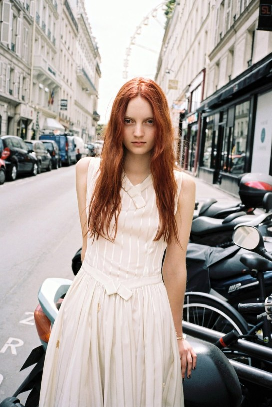 CODIE YOUNG HITS PARIS FOR LOVE WANT MAGAZINE BY GEN KAY........